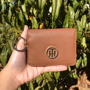 Tommy Hilfiger Brown Cardholder